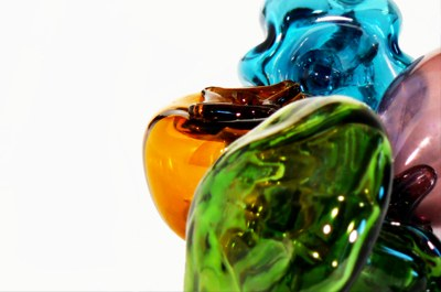 Artistic glass production